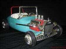 1963 Vintage Mattel Barbie & Ken Dolls Hot Rod Roadster Complete with Row Bar