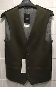 NEXT Men's Waistcoat Size 34 Regular BNWT RRP £40 Bargain Just £10 Opening Bid