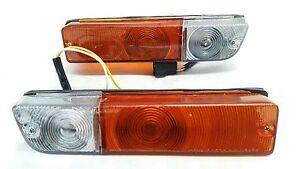 BUMPER BAR PARK INDICATOR LIGHTS FOR DATSUN NISSAN SUNNY B110 1200 B210 120Y 123