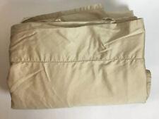Ralph Lauren Queen Cotton Flat Sheet Tan / Beige