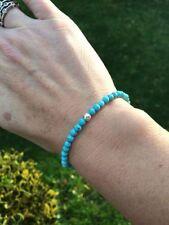 "Turquoise Fine Bracelets 7 - 7.49"" Length"