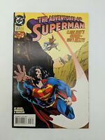 The Adventures of Superman #523 (May 1995) Vintage DC Comics Free Shipping