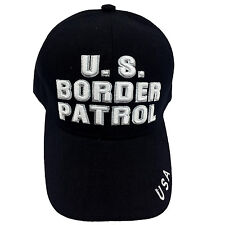 US BORDER PATROL Embroidered Black Cap