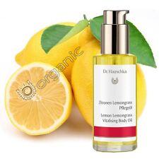 Dr Hauschka Genuine Organic Lemon Lemongrass Vitalising Body Oil 75ml NEW