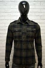Camicia Uomo G-STAR Taglia Size M Maglia Polo Manica Lunga Cotone Chemise