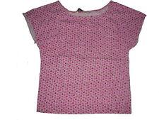 H & M tolles T-Shirt 116 rosa mit Blumenmotiven !!