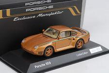 Porsche 911 959 Exclusive 30 Jahre anniversary Jubiläum gold metallic 1:43 Spark