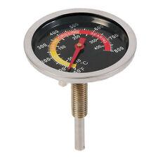 Edelstahl BBQ Smoker Grill Thermometer Räucherofen Tool Küche Temperaturanzeige