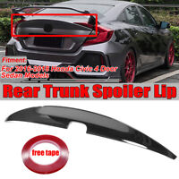 For 10th Honda CIVIC 2016-2019 Sedan Duckbill HighKick Rear Trunk Spoiler Wing