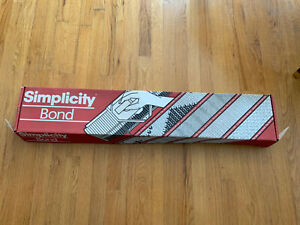 Vintage BOND Simplicity Knitting Machine Needle Bed W Accessories & Instructions