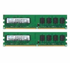 New Samsung 4GB 2x 2GB DDR2 PC2-6400 800mhz intel Desktop Memory RAM
