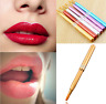 Fashion Women Retractable Lip Liner Brushes Lipstick Brush Makeup Cosmetic Tool
