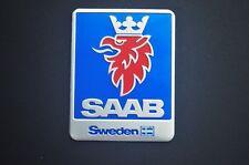 1PCS Car Modified SAAB Emblem Badge Decal Aluminum 93 9-3 95 9-5