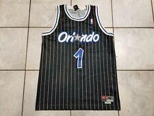 VINTAGE 90' MAGIC ORLANDO # 1 MCGRADY NBA NIKE BASKETBALL JERSEY SZ MEDIUM