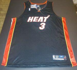 NWT Dwyane Wade Miami Heat Reebok Men's 52 sewn / stitched jersey
