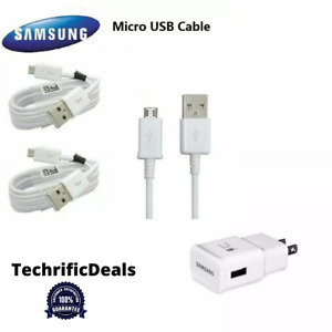 AUTHENTIC Micro USB Data Sync Charger For Samsung Galaxy Note 5 4 S6 S7, LG HTC