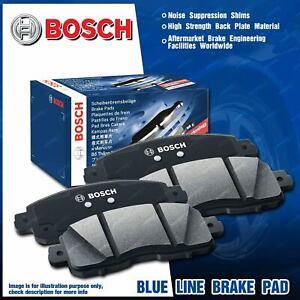 4 Pcs Bosch Rear Disc Brake Pads for Mazda 6 GG GY GH GJ 2.2 2.3 2.5 FWD