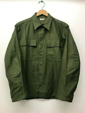 Nos Og107 Fatigue Shirt / Size Small, U.S. Army Men's,1960 F-65
