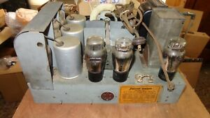 VINTAGE Philco Model 20 Cathedral TUBE RADIO - Chassis Only Untested Parts & Rep