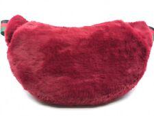 Faux Fur Pockets Belt Bag