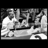 #pha.016027 Photo JIM CLARK LOTUS GP F1 GRAND PRIX NURBURGRING 1963 Car Auto