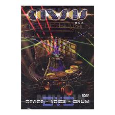 KANSAS - Device-Voice-Drum Live DVD (*New *Sealed *All Region)