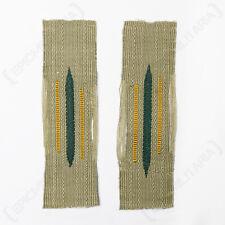 CAVALRY EM BEVO LITZEN COLLAR TABS - Repro German WW2 Military Army Patch New