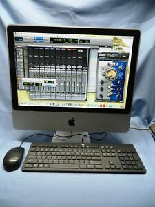 "20"" iMac STUDIO READY. Protools 10HD+Waves+ Logic Pro+Office Suite+ READ"