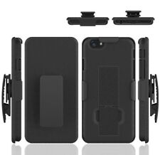 For iPhone 6 Plus Holster Shell Combo Hard Case / w kickstand Belt Clip