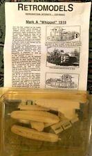 RETROMODELS MARK A WHIPPET 1918 1e GM 1/72  model kit, maquette