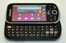 Samsung Intercept M910 Android Phone Virgin-Mobile STEEL GRAY keyboard WiFi text