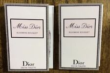New Lot Of 2 Miss Dior Blooming Bouquet Christian Dior EDT Spray Vial Sample .03