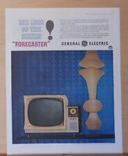 1959 magazine ad for General Electric TV - Look of the Sixties, Forecaster model