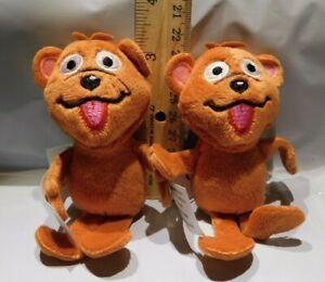 "2 Mini 4"" Baby Bear Gund Mystery Surprise Plush Sesame Street 50 Years"