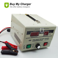 Promotion!12V 6A~40A Amp Lead Acid Battery Charger GEL wt/ LED Display 220V~240V