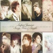 SUPER JUNIOR-SEXY. FREE & SINGLE-JAPAN CD B63