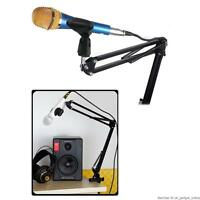 Broadcast Studio Microphone Mic Suspension Boom Scissor Arm Stand Recording