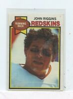 JOHN RIGGINS 1979 Topps Washington Redskins  #10