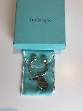 Genuine Tiffany & Co Keyring Sterling Silver With Return To Tiffany Tag