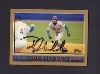 Doug Glanville Autographed Signed 1998 Topps jh64