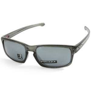 Oakley Sliver Stealth OO9409-03 Grey Smoke/Prizm Black Asian Fit Mens Sunglasses
