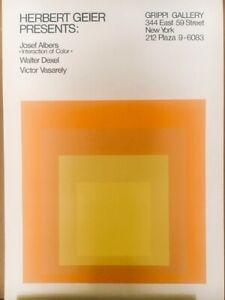 Josef Albers Poster