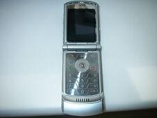 Motorola V3, Plateado De Trabajo