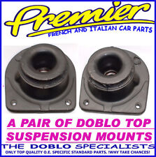 NEW FIAT DOBLO 01-09 2X FRONT SUSPENSION STRUT TOP MOUNTS+BEARING AND TAXI