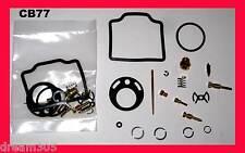 Honda 305 CB77 Superhawk Carburetor Carb Rebuild Kit x 2 sets! 1961-1968