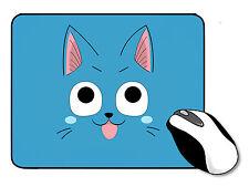 Fairy Tail Happy Cat mousemat De Goma Ratón Mat Anime Cosplay