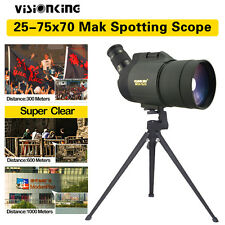 Multi-Coated Visionking 25-75x70 MAK Zoom Spotting Scope Bak4 + Tripod Case bn5