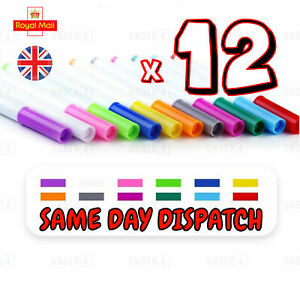 12 Colour Liquid Chalk Pens Marker Glass Windows Blackboard Plastic Pen pencil