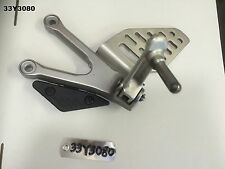 YAMAHA R6 2C0 06 - 12 LH RIDERS PEG AND BRACKET  GENUINE OEM   LOT33  33Y3080
