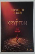 SDCC Comic Con 2018 Handout WB / DC KRYPTON season 2 promo poster SUPERMAN